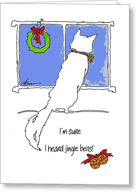Jingle Bells Greeting Card