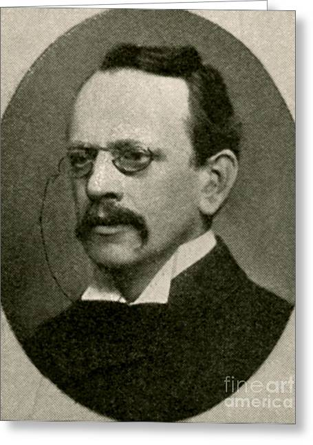 J.j. Thomson, English Physicist Greeting Card by Photo Researchers