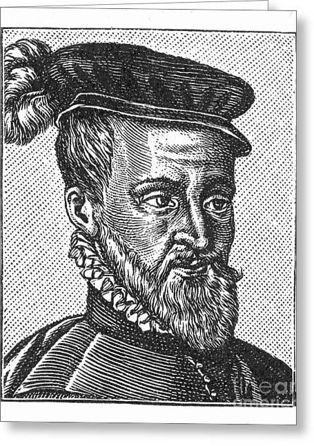 Joachim Du Bellay Greeting Card by Granger
