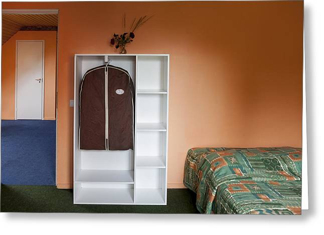 Jogeva County A Bedroom With Ochre Greeting Card by Jaak Nilson