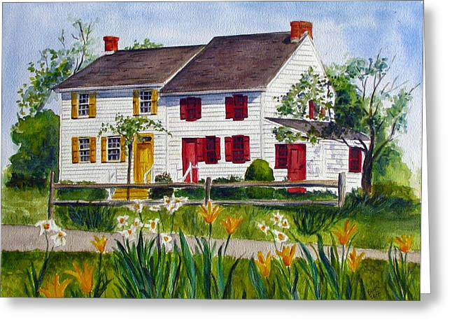 John Abbott House Greeting Card