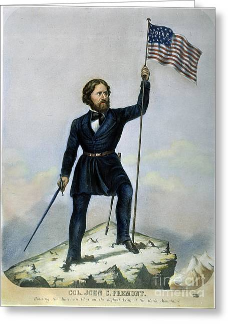 John C. Fremont Greeting Card by Granger