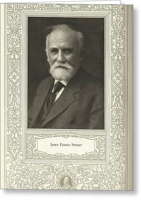 John Edson Sweet, Us Engineer Greeting Card