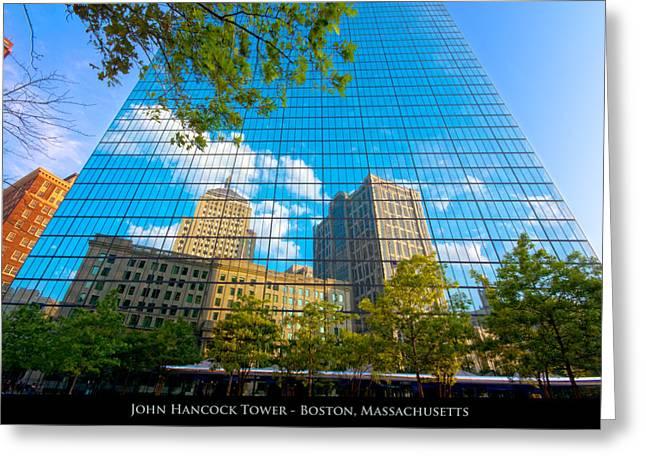 John Hancock Tower Greeting Card