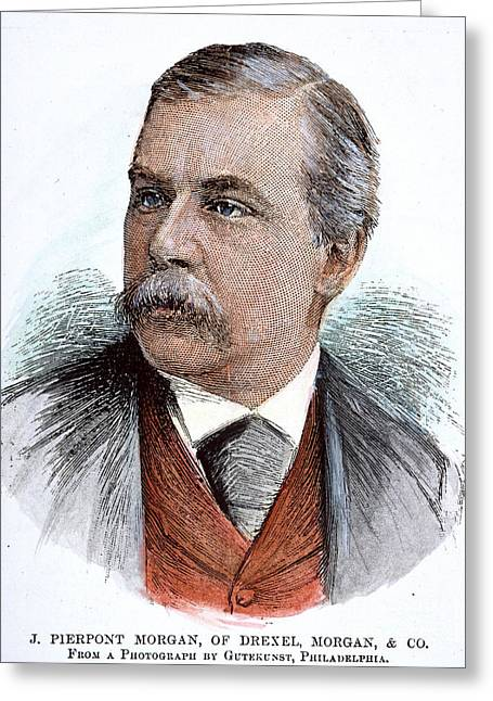 John Pierpont Morgan (1837-1913) Greeting Card by Granger