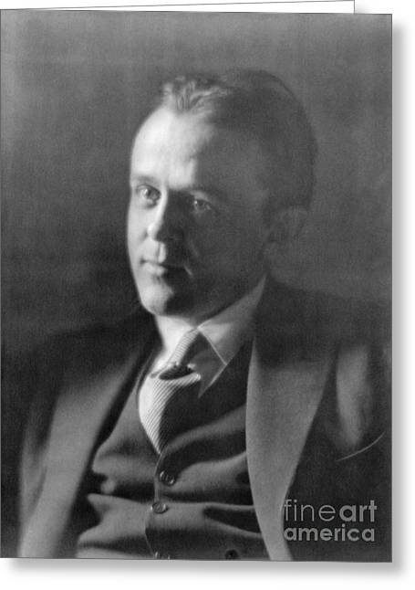 John Reed, American Journalist Greeting Card by Photo Researchers