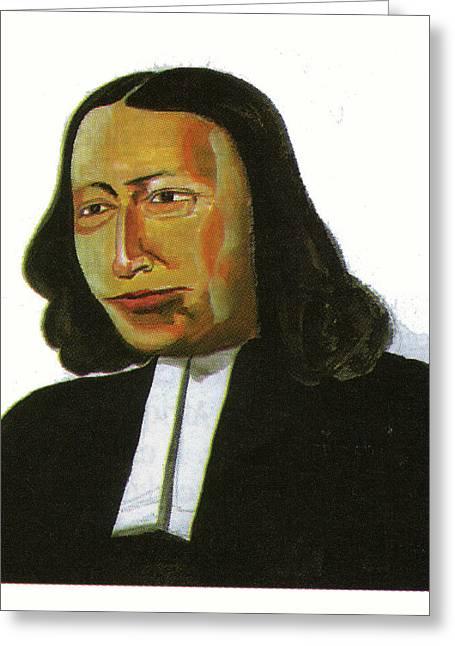 John Wesley Greeting Card by Emmanuel Baliyanga