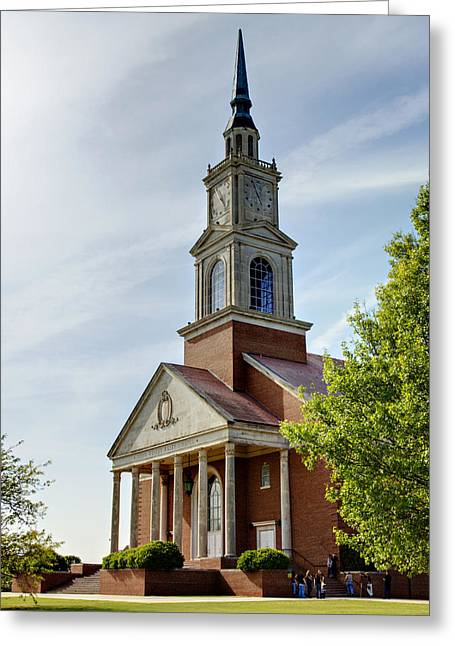 John Wesley Raley Chapel Greeting Card by Ricky Barnard