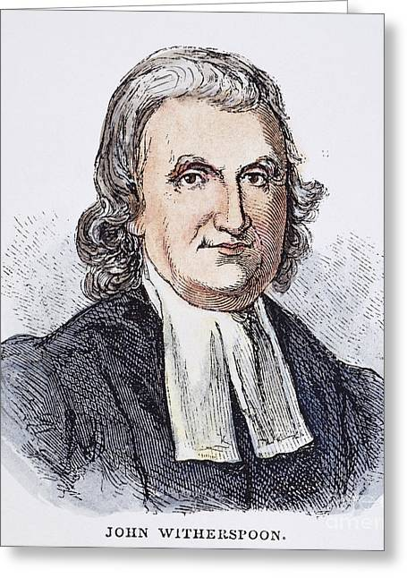 John Witherspoon (1723-94) Greeting Card