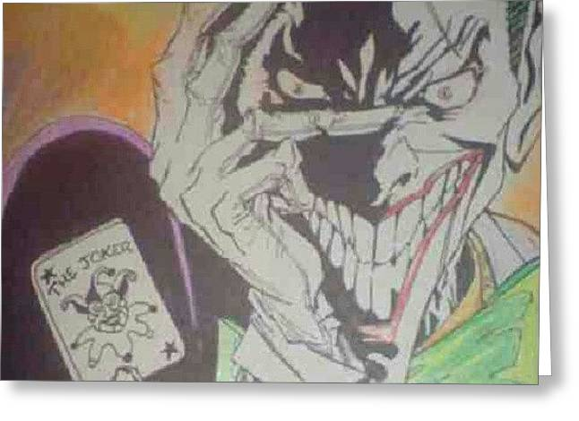 Joker greeting cards mobile prints joker before digital editing joker greeting card m4hsunfo