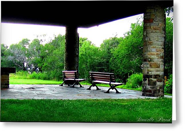 Greeting Card featuring the photograph Jollycut Park by Danielle  Parent