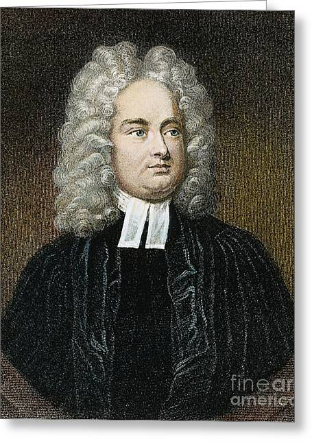 Jonathan Swift (1667-1745) Greeting Card by Granger