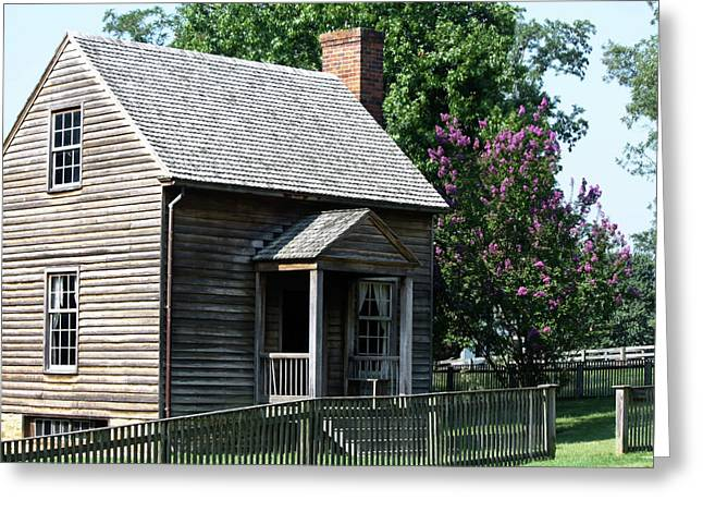 Jones Law Office Appomattox Court House Virginia Greeting Card by Teresa Mucha