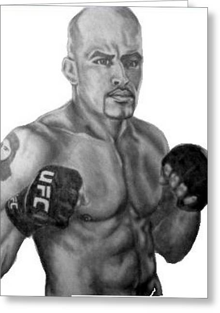 Jorge Rivera Greeting Card by Audrey Snead