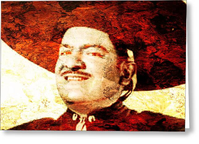 Jose Alfredo Jimenez Greeting Card