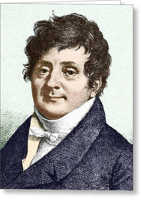 Joseph Fourier, French Mathematician Greeting Card by Sheila Terry