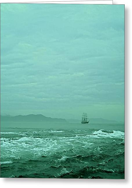 Journey Into The Unknown Greeting Card by Valerie Rosen
