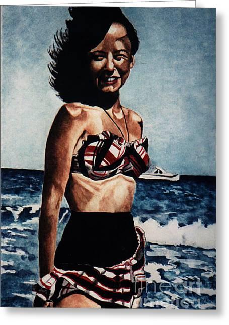 Joyce 1947 Greeting Card