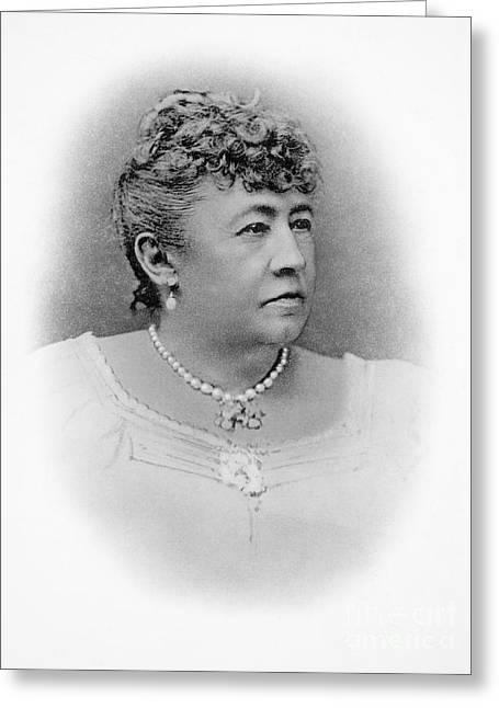 Julia Dent Grant (12826-1902) Greeting Card by Granger