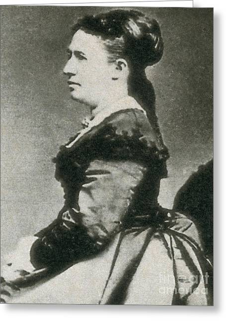 Julia Grant Greeting Card by Photo Researchers