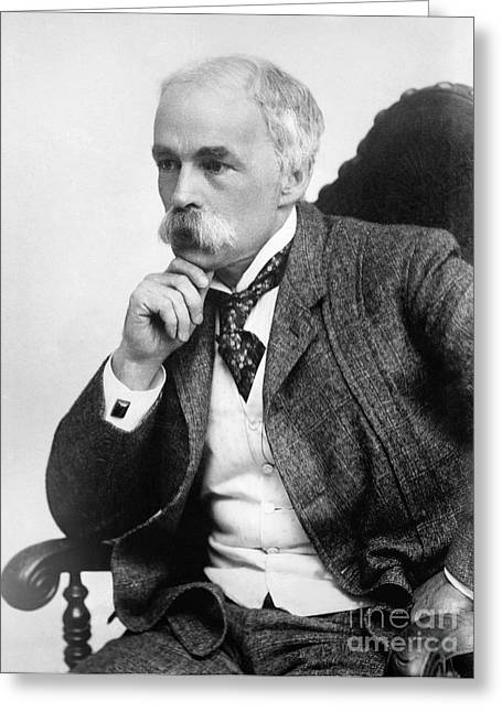 Julian Hawthorne (1846-1934) Greeting Card by Granger
