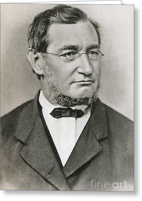 Julius Robert Von Mayer Greeting Card by Photo Researchers