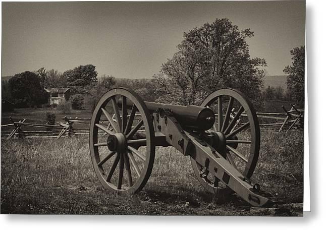 July 1 1863 Gettysburg Greeting Card by William Jones