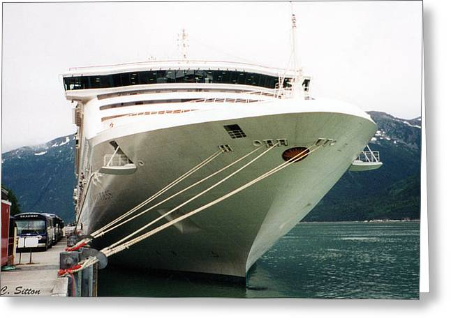 Juneau Princess Greeting Card