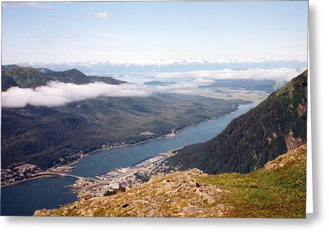 Juneau View Greeting Card