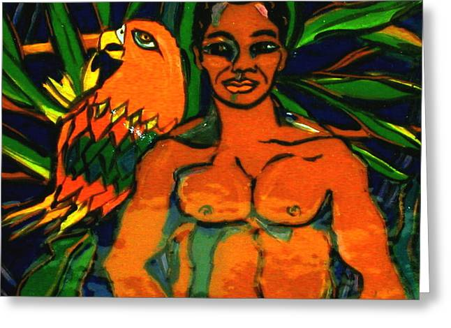 Jungle Pals Greeting Card by Patricia Lazar