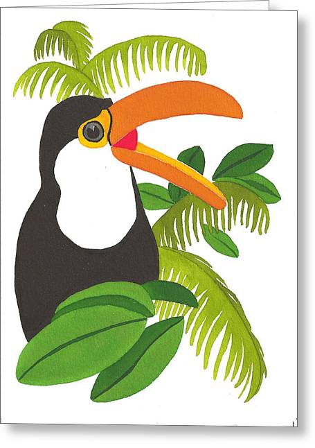 Jungle Toucan Greeting Card