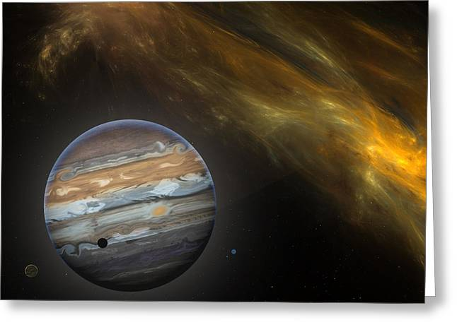 Jupiter Greeting Card