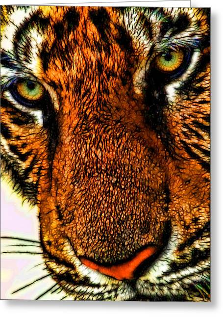 Just Face It Greeting Card by Joetta West
