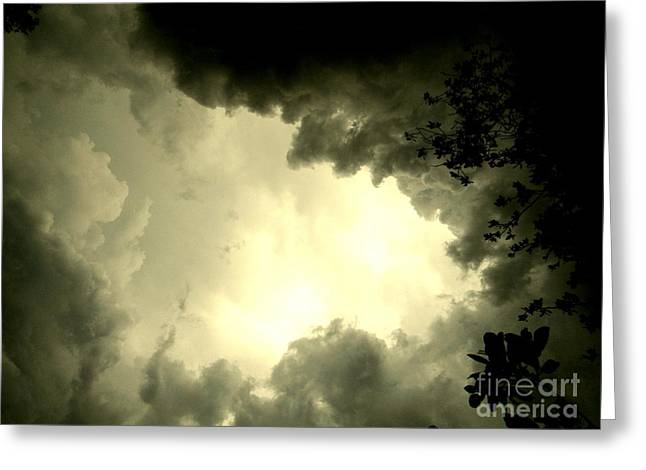 Just Look Up Greeting Card by Kimberly Dawn Hendley
