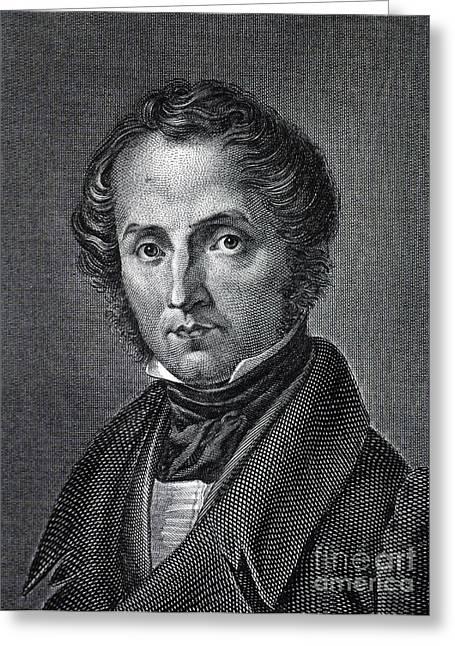 Justus Von Liebig, German Chemist Greeting Card