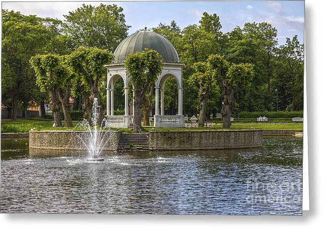 Kadriorg Park 2 Greeting Card
