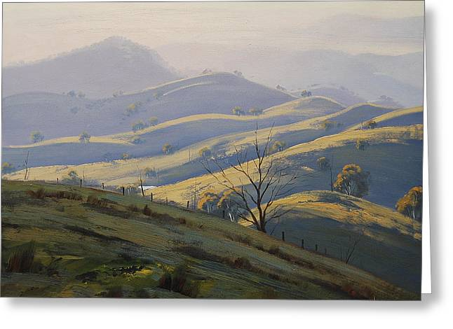 Kanimbla Valley Morning Greeting Card by Graham Gercken
