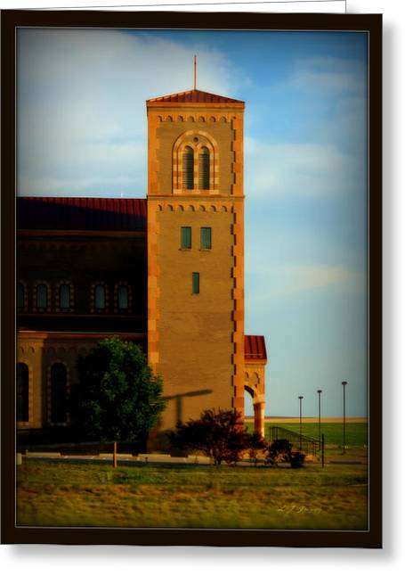 Greeting Card featuring the photograph Kansas Architecture by Jeanette C Landstrom