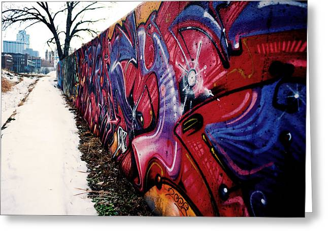 Kansas City Graffiti  Greeting Card