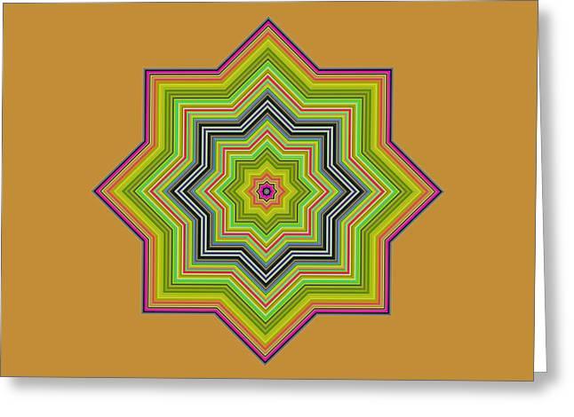 Karac No.1 Greeting Card by Danny Lally