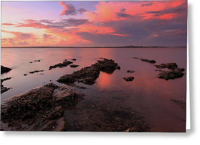 Karuha Sunset 2 Greeting Card