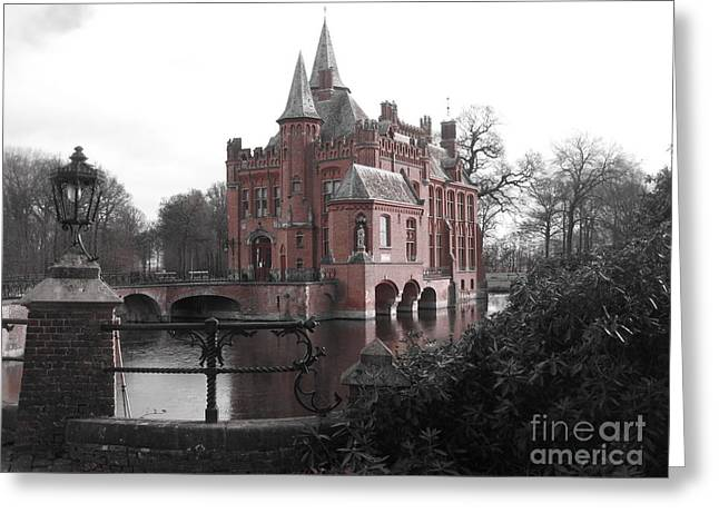 Kasteel Ten Berghe Greeting Card by Blake Yeager