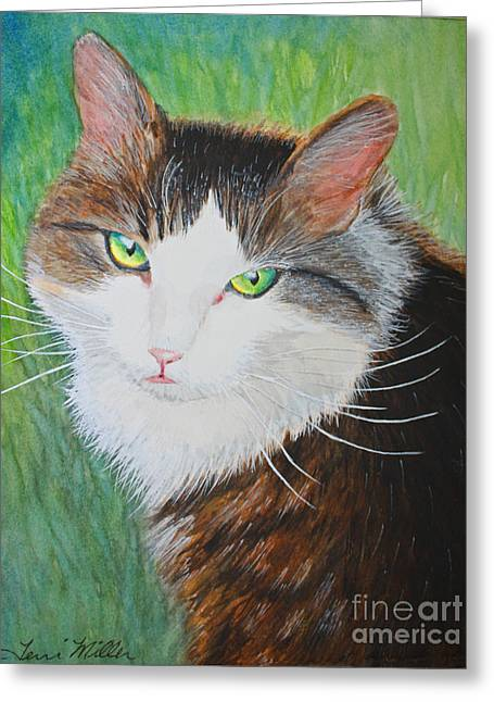 Katie Greeting Card by Terri Maddin-Miller