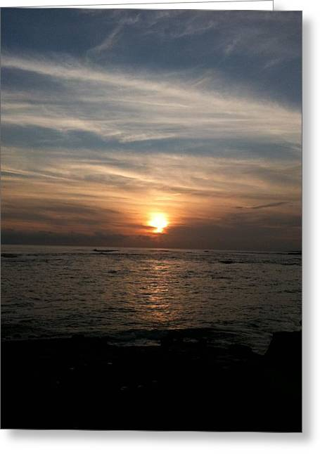 Greeting Card featuring the photograph Kauai Sunset by Carol Sweetwood