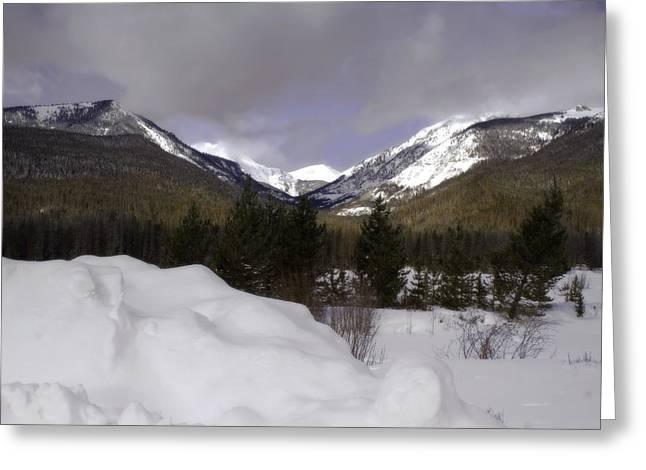 Kawuneeche Valley - Rocky Mountain National Park Greeting Card by Ellen Heaverlo