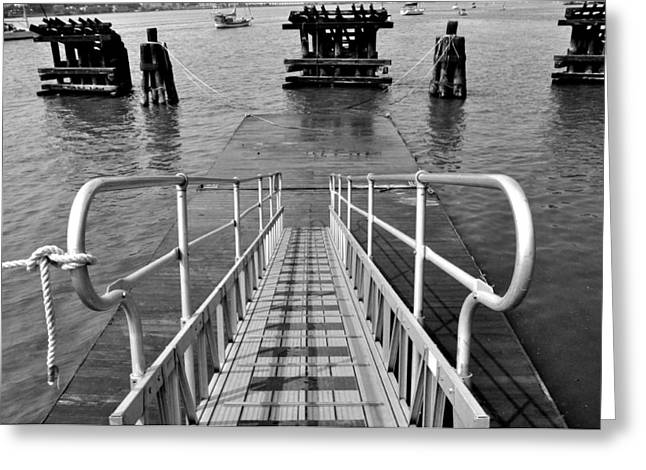Greeting Card featuring the photograph Kayak Ramp by Sarah McKoy