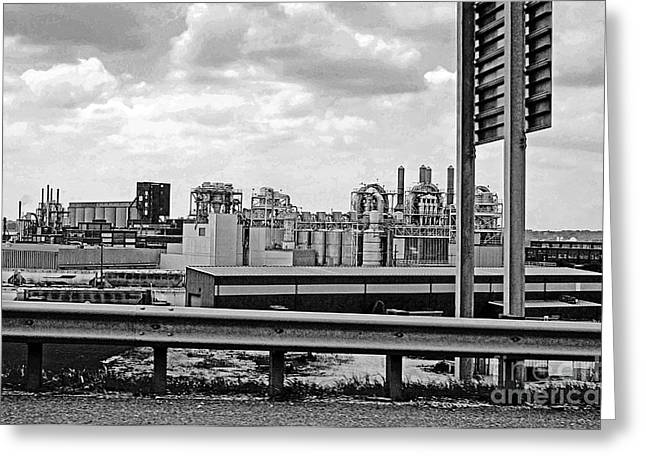 Kc Industry Greeting Card by Gib Martinez