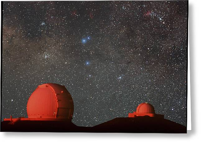 Keck & Irtf Telescopes Greeting Card by Magrath Photographynielsen