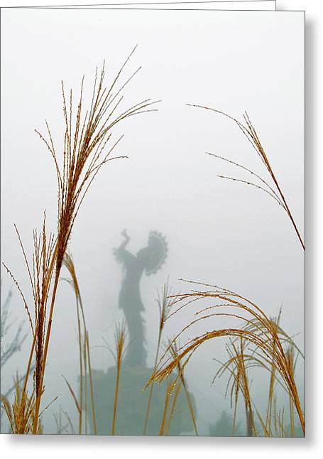 Keeper Of The Fog Greeting Card