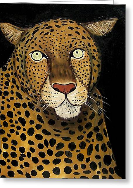 Keeping It Wild Greeting Card by Lisa Aerts